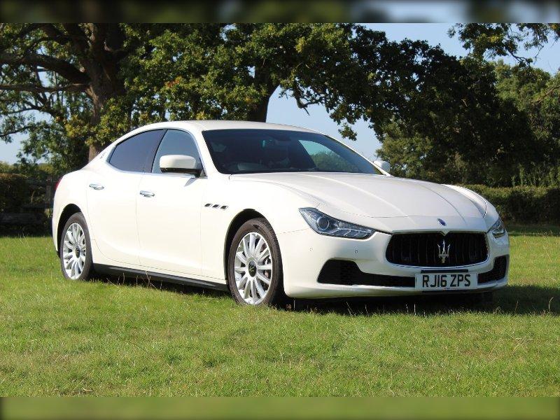 Sold 2016 Maserati Ghibli 3.0 DV6 275bhp 4-Door, Warlingham, Surrey   SVC Specialist Vehicles